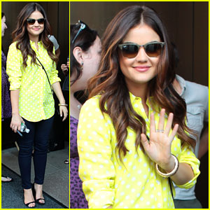 Lucy Hale: Is Aria Getting Another New Love Interest?