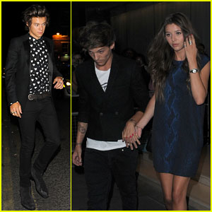 One Direction & Little Mix: 'This is Us' After Party Exits!