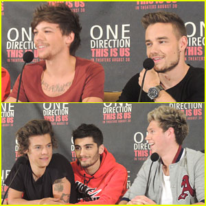 Zayn Malik & Liam Payne: 'This Is Us' Press Conference