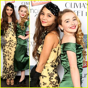 Rowan Blanchard & Sabrina Carpenter: Olivia Holt Sweet 16 Party Pair!