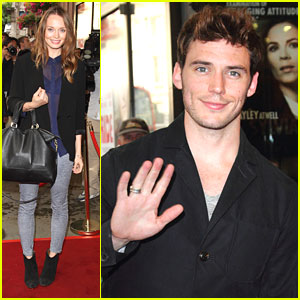 Sam Claflin & Laura Haddock: 'The Pride' Pair