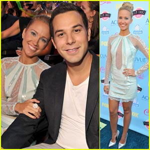 Skylar Astin & Anna Camp: Teen Choice Awards Couple!