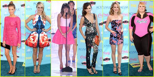 Teen Choice Awards 2013 Best Dressed Poll -- Vote Now!