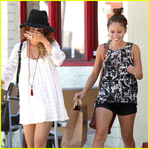 Vanessa Hudgens: Lunch Date with Kim Hidalgo