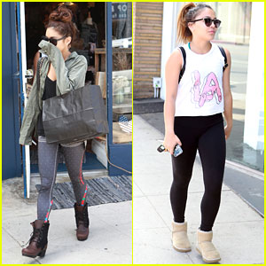 Vanessa Hudgens: Yoga Stop with Stella