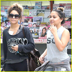 Vanessa & Stella Hudgens: Hot Yoga Workout