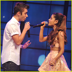 Ariana Grande & Nathan Skyes: 'Almost Is Never Enough' Performance - Watch Now!