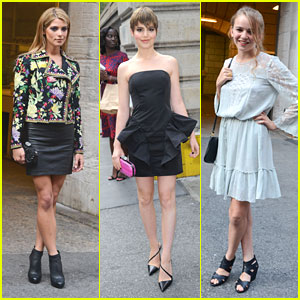 Ashley Greene & Sami Gayle: New York Public Library Ladies