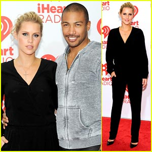 Claire Holt & Charles Michael Davis: 'Originals' at iHeartRadio Festival