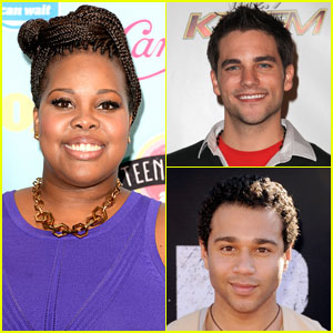 Amber Riley, Corbin Bleu, & Brant Daugherty Join 'Dancing with the Stars'!