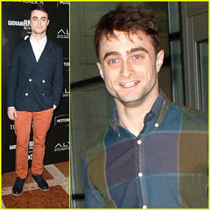Daniel Radcliffe: JFK Arrival After Venice Film Festival