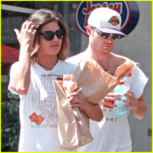 Ed Westwick & Jessica Szohr: Jersey Mike's Meet Up