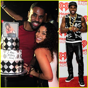 Jordin Sparks & Jason Derulo: Birthday Cake After iHeartRadio Festival!