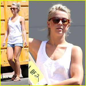 Julianne Hough: Weekend Clean Up