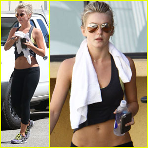 Julianne Hough: 'Hunger Games' Training Camp!