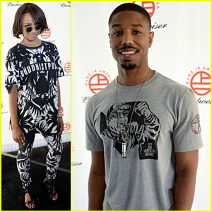 Kat Graham & Michael B. Jordan: Made In America Festival!