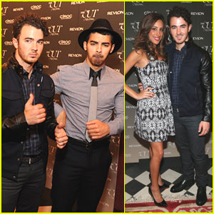 Joe Jonas: 'The Cut' Fashion Week Party with Kevin & Danielle