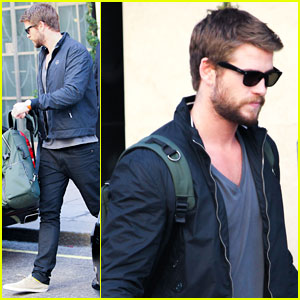 Liam Hemsworth: Bye Bye London!