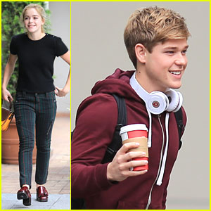 Mason Dye & Kiernan Shipka: 'Flowers' Set on Friday