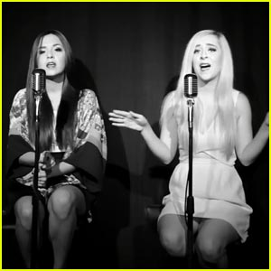 Megan & Liz Cover Lorde's 'Royals' - Watch Now!