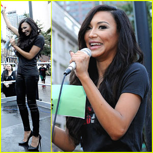 Naya Rivera: 'Women's Health' Run10 Feed 10 Race!