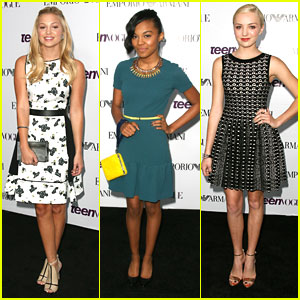 Olivia Holt & Peyton List - Teen Vogue Young Hollywood Party 2013
