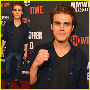 Paul Wesley: Mayweather vs. Alvarez Fight in Vegas!