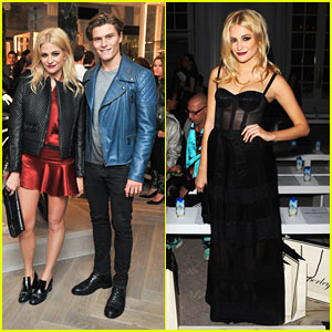 Pixie Lott: Back To Blonde for Belstaff House Opening