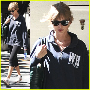 Taylor Swift: Barry's Bootcamp Workout After 'Giver' Casting News