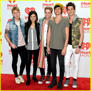 The Summer Set: iHeartRadio Festival Performance Pics