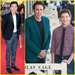 Tye Sheridan: 'Joe' Photo Call & Premiere