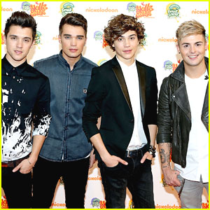 Union J: Fruit Shoot Skills Awards 2013 Performance Pics!
