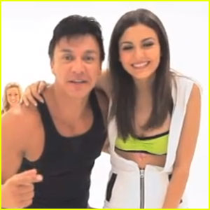 Victoria Justice: Zumba Fitness Video - Watch Now!