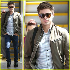 Zac Efron: Back in LA After Toronto Film Festival!