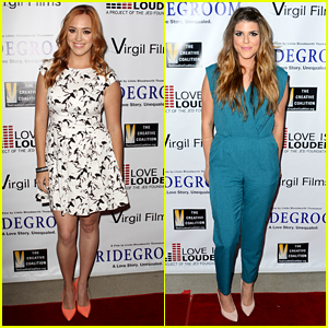 Andrea Bowen: 'Bridegroom' Premiere with Molly Tarlov!