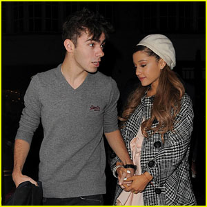 Ariana Grande & Nathan Sykes Hold Hands in London