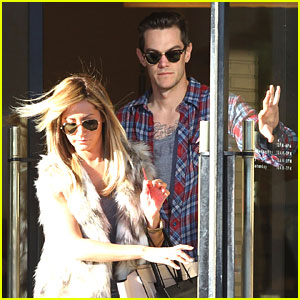 Ashley Tisdale: Barney's Shopping with Christopher French