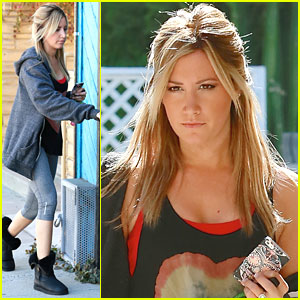 Ashley Tisdale: Monday Work Out!