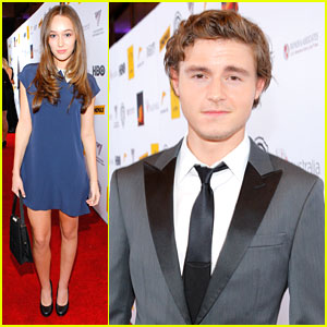 Callan McAuliffe & Alycia Debnam Carey: Australians in Film Awards 2013