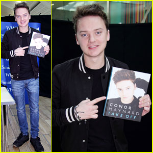 Conor Maynard: 'Take Off' Book Signing!