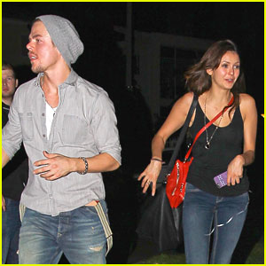Nina Dobrev & Derek Hough: Halloween Horror Date Night