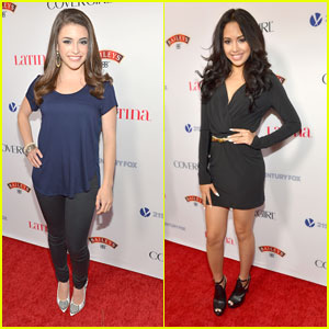 Jasmine V & Daniela Bobadilla: Latina Mag's Hollywood Hot List Party Pair