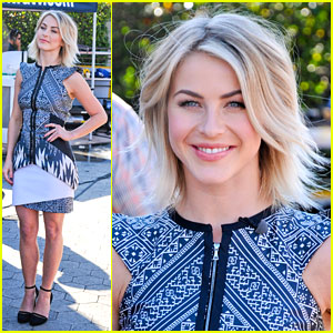 Julianne Hough: 'Extra' Appearance!