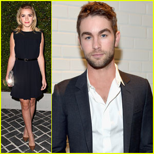 Kiernan Shipka & Chace Crawford: 'Chloe' Fashion Show & Dinner