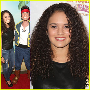 Madison Pettis And The Rock 2013