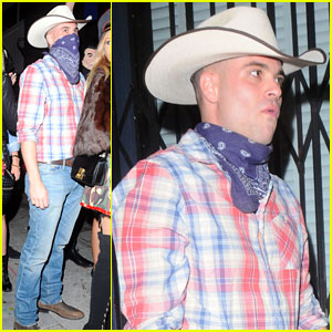 Mark Salling: Cowboy Halloween Costume!