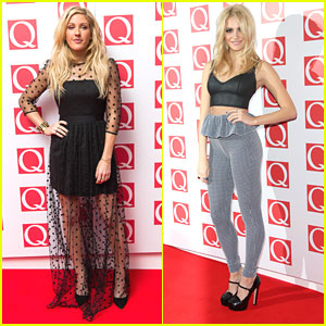 Pixie Lott & Ellie Goulding: Q Awards 2013