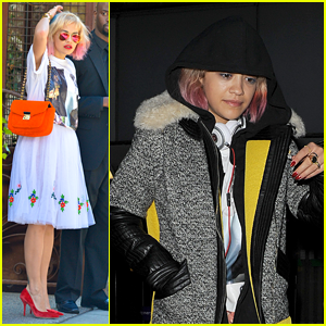 Rita Ora: London Landing with Sister Elena!