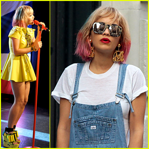 Rita Ora: Pink Hair for iHeartRadio Performance!