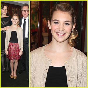 Sophie Nélisse: 'The Book Thief' Luncheon
